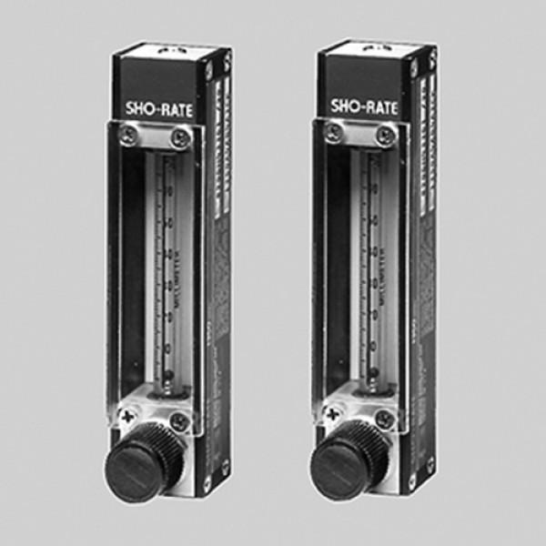 Durchflussmesser aus Metall - Skala: 65 mm