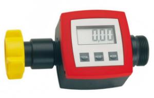 Elektronischer Durchflussmengen-Zähler aus PP oder PVDF