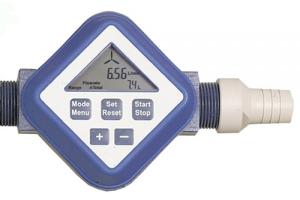 Elektronischer Durchflussmengen-Zähler aus PP