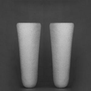Mikro-Filterkerze aus Borosilikatglas konisch