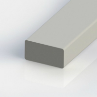 Rechteckprofil aus glasfaserverstärktem Kunststoff (GFK)
