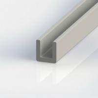 U-Profil aus glasfaserverstärktem Kunststoff (GFK)