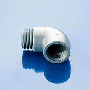Winkel-Gewindemuffe aus PP-glasfaserverstärkt - Außen-/Innengewinde