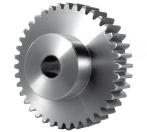 Stirnzahnrad aus Edelstahl rostfrei Modul 1,0-2,0