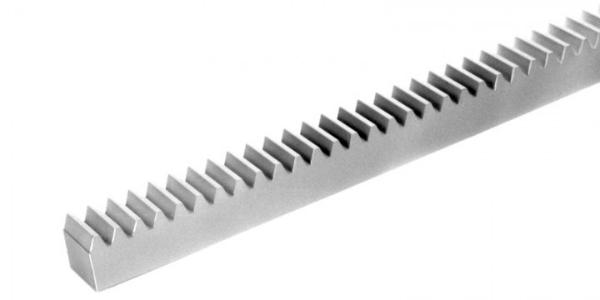Zahnstange aus Kunststoff gefraest