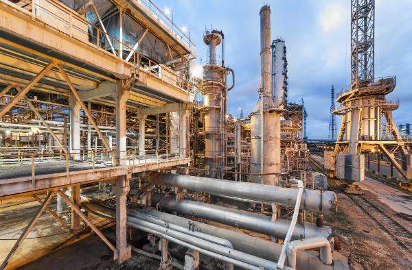 Chemiefabrik zur Herstellung von Ammoniak