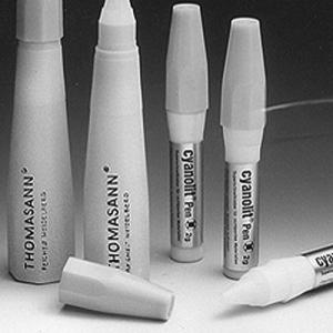 Cyanacrylester-Kleber - Kunststoff/Metall