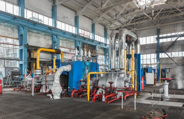 Kompressorstation zur Herstellung von Ammoniak