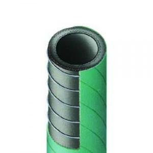 PVC-Spiral-Industrie-Saug- und Druckschlauch dunkelgruen