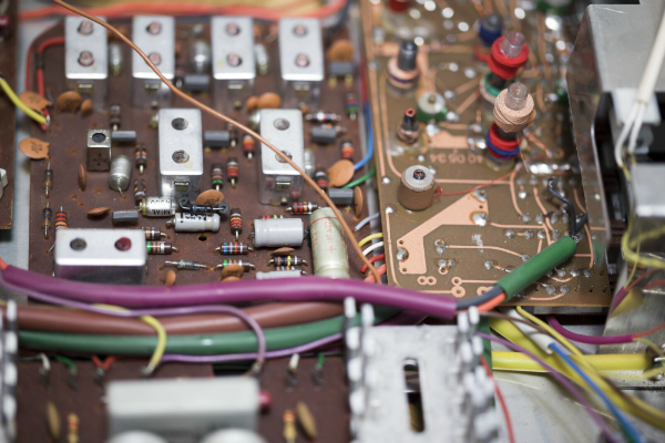 Alte elektronische Schaltung