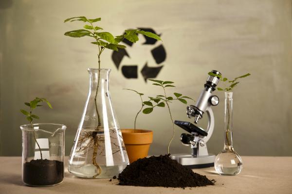 Chemische Laborglaswarenausruestung in der Oekologie