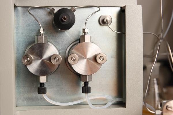 Details eines SEC-Chromatographen