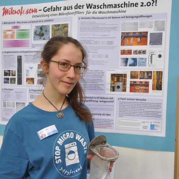 Leonie Prillwitz Mikroplastik-Filter Waschmaschine