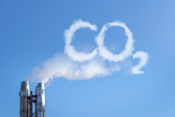 CO2 in der Luft