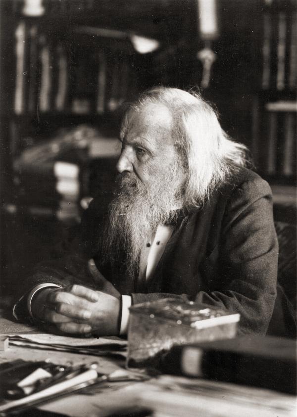 Dmitri Iwanowitsch Mendelejew Chemiker