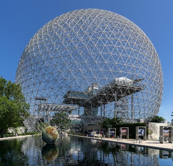 biosphere-montreal Fullerene