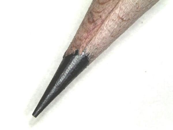 Bleistiftspitze aus Graphit diamant-und-graphit