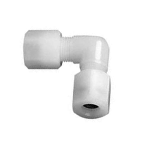 High-Pure Elbow Pipe Connector made of PFA