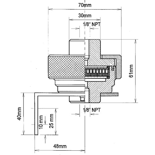 Filterhalter aus PTFE