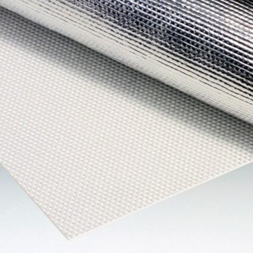 Glass Fabric Film - aluminium-coated