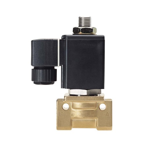 High-Tech 3/2-Way High-Temperature Solenoid Valve made of Stainless Steel