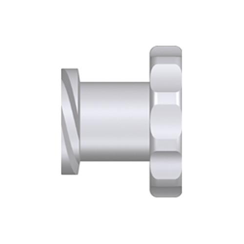 Luer-Lock-Verschlusskappe (weiblich) mit Rändelgriff