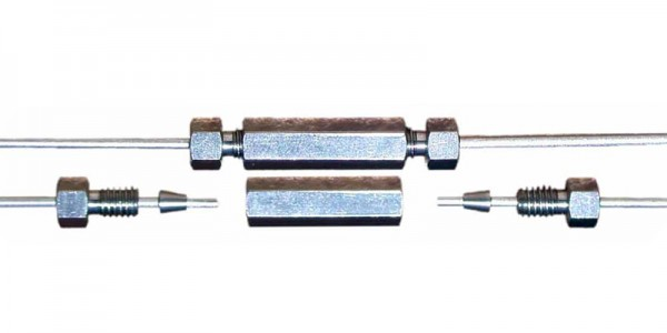 Straight Capillary Coupling made of Stainless Steel
