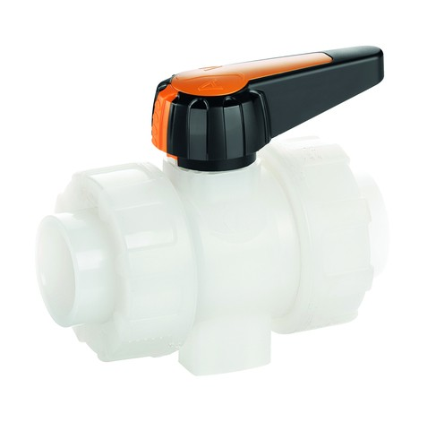 Industrial Ball Valve made of PVDF