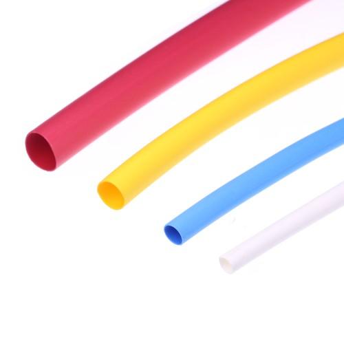 Polyolefin-Schrumpfschlauch, Schrumpfrate 2:1 - bis +125 °C - farbig und selbstverlöschend