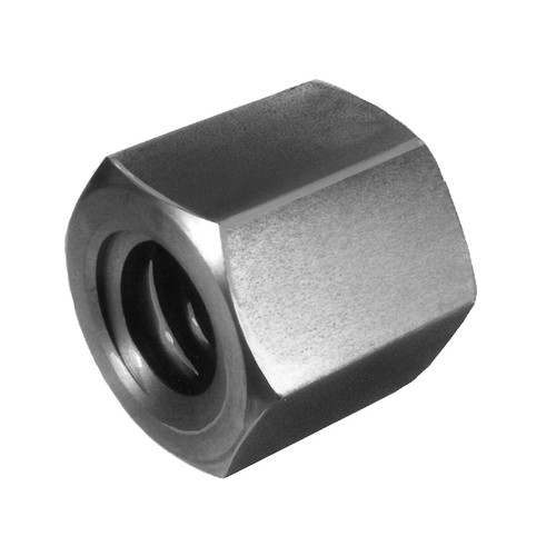 Trapezoidal-Threaded Nut - hexagonal