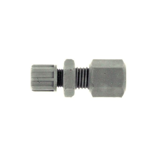 Straight Tube/Pipe Connector (reducing) made of PP or PVDF