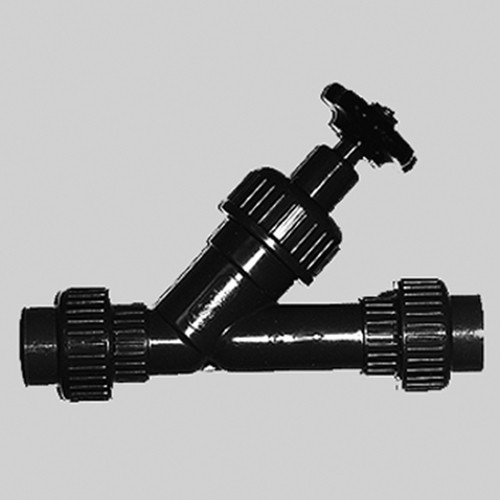 Inclined Seat Valves (Angle Seat) made of PVDF