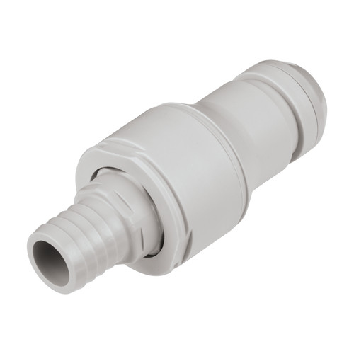 PP Quick-Disconnect Nipple, NW 9.5 mm - metal-free