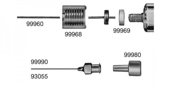 RCT®-Zubehör: Spezialkanüle für Hochdruckspritzen
