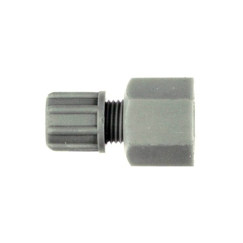 Straight Connector with Female Thread made of PP or PVDF