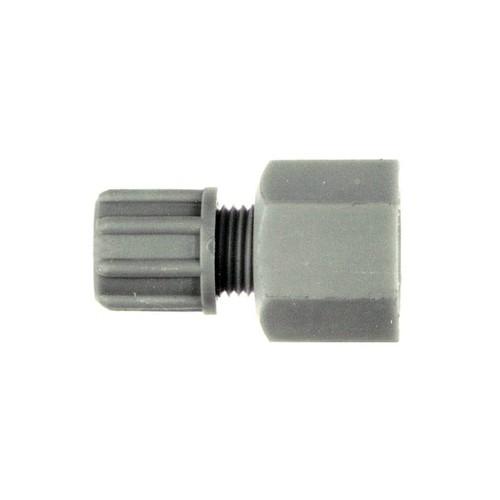 Gerader-Verbinder mit Innengewinde aus PP oder PVDF