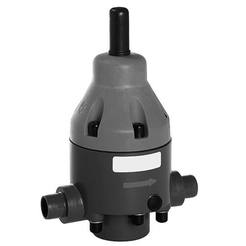 Druckhalteventil aus PP - rückdrucksicher