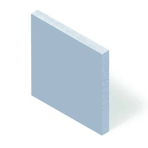 Soft-Silicone Film, Thermally Conductive (2,5 W/mK) - self-adhesive on both sides, blue