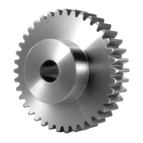 Stirnzahnrad aus Stahl - Modul 0,5-2,0