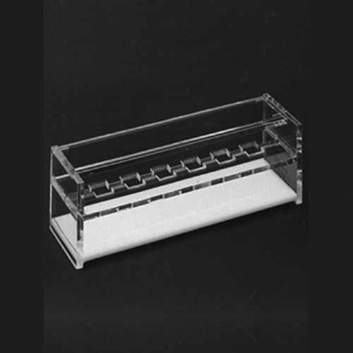 Cuvette Rack - crystal-clear
