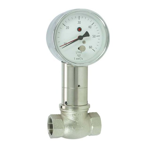 Flowmeter made of Red Brass for Liquids