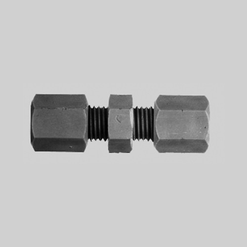 Straight Pipe Connector made of PP or PVDF - conductive and antistatic