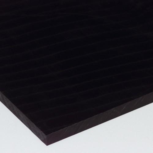 Platte aus POM - schwarz