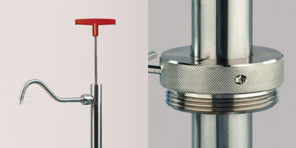 RCT®-Accessories for Drum Pump made of stainless steel
