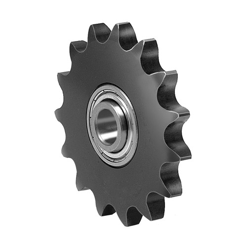 Chain Tensioning Wheels made of steel - with Ball Bearing