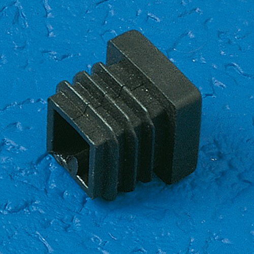 Finned Plug made of LDPE - square