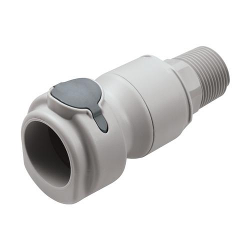 PP-Schnellverschlusskupplung, NW 9,5 mm - metallfrei
