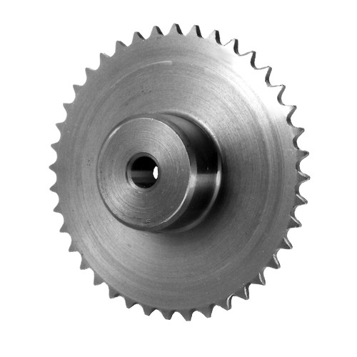 Sprockets made of steel - with one-sided hub
