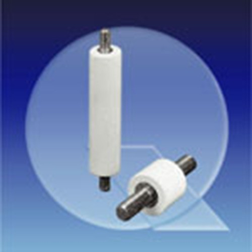 Insulating Spacer made of PEs - cylindrical, external thread