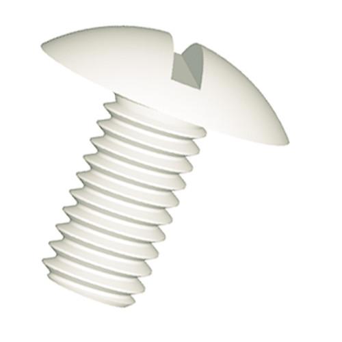 Slotted Mushroom Head Screw (NFE 25129) made of PA